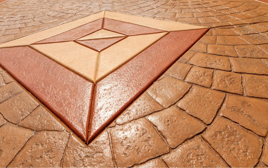 stamped concrete Lubbock TX